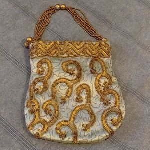 Costa Blanca vintage sequin & beaded  evening bag